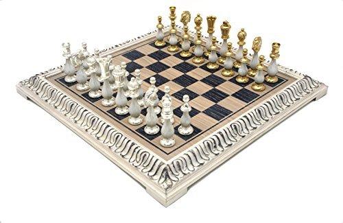 Das San Severeo Gold und Silber Schachspiel