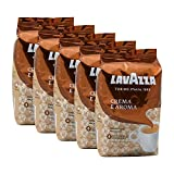 Lavazza Kaffee Crema E Aroma, ganze Bohnen, Bohnenkaffee (5 x 1kg Packung)