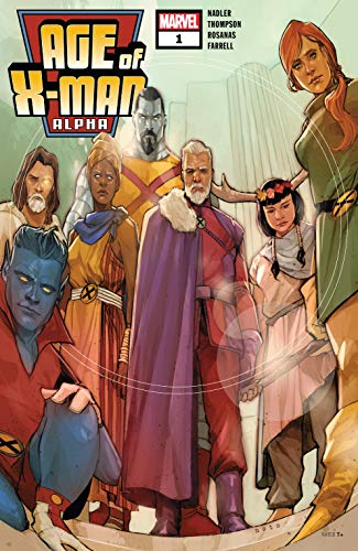 Age Of X-Man Alpha (2019) #1 (Age Of X-Man (2019)) (English Edition)