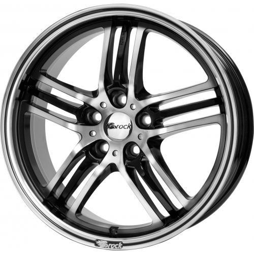 Brock-B27-75-x-17-et-45-girobulloni-5-x-108-Hub-centraggio-726-580070562-Nero-front-polished