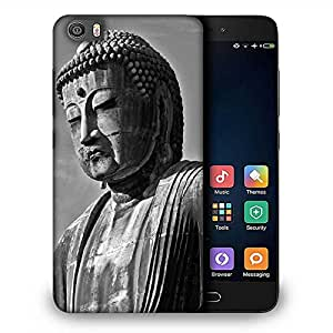 Snoogg Buddha Statue Designer Protective Back Case Cover For Samsung Galaxy J1
