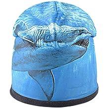 AEGKH Moda Uomo Cappello Modello Animale Stampa 3D Cappelli Invernali con  Cappuccio per Donne Cappellino Hip 6acf934f9517