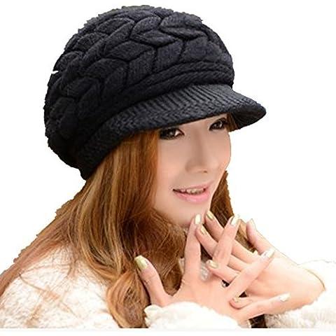 Viskey–della moda caldo berretto a maglia Crochet cappelli caldo