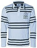 Signum Herren Polo Langarm-Shirt -Jacky Ickx- Hellblau L