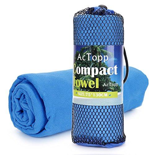 AcTopp Toalla de Microfibra Superligera para...