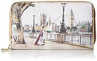 Designer: Ynot?Articolo: H-361Colore: Londra CuoioMateriale: EcopellePronti a viaggiare per il mondo con le stampe di Ynot? ? Questo portafoglio dispone di otto portacarte interni ed è pluriscompartato; è diviso al centro dal portamonete con ...