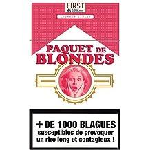 PAQUET DE BLONDES