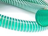 Saugschlauch Spiralschlauch grün (Meterware) 38mm