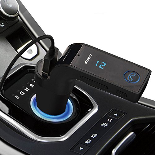 Bluetooth FM Transmitter, novpeak Wireless Auto FM