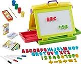 Unbekannt Kinder Malset 87 Teile Maltafel Magnettafel Kindermaltafel Buchstaben ABC Magnet