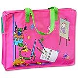 Mal- und Zeichentasche~45 x 34 cm groß~Maltasche~Farbwahl (Pink)
