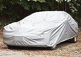 Qulista SUV Autoabdeckung Vollgarage wasserdicht Sonnenschutz, 482 x 177 x 120 cm VW/Audi/Golf/bmw usw. Windfest Elastisch Auto Abdeckplane Sommer/Winter