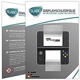 2 x Slabo Displayschutzfolie New Nintendo 3DS Displayschutz Schutzfolie Folie
