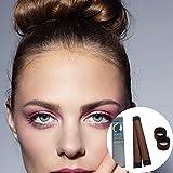 """ROLL & GO Dutt Hilfe Styling Set Inhalt: 2 Stuck Premium Qualität Hair Bun Maker + 1 Dutt Kissen Haar Donut + Zubehör Inklusive: Eine einfache """"Step by Step"""" ANLEITUNG mit Styling Ideen! (Schokobraun) Test"""