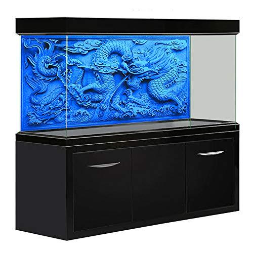 Amakunft Aquarium Background HD Grey Dragon Doppi Lati Fish Tank...