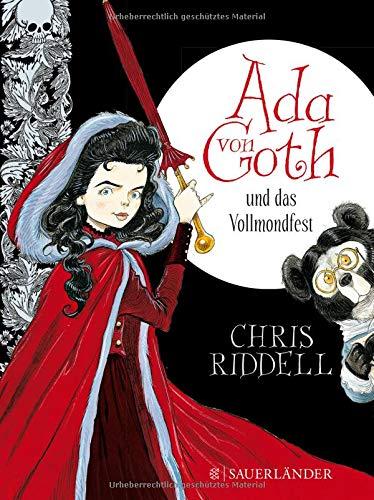 Ada von Goth und das Vollmondfest (Halloween-rätsel Klasse 1.)