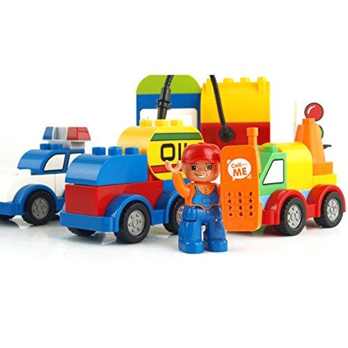 Preisvergleich Produktbild Bausteinbox Konstruktionsbox Kombi-Spielzeug Kinderwagen Variety Spielzeug Set