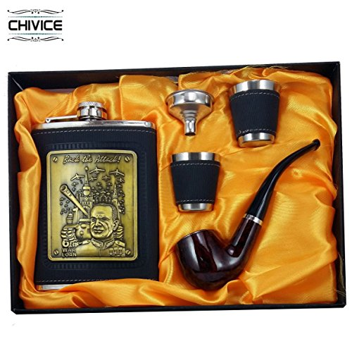 5 in 1 Hip Flask Gift Set  available at amazon for Rs.666
