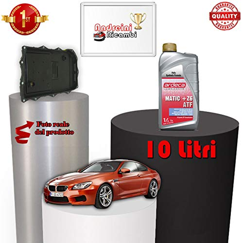 KIT FILTRO CAMBIO AUTOMATICO E OLIO SERIE 6 F13 640 D 230KW 2012 -> |1098