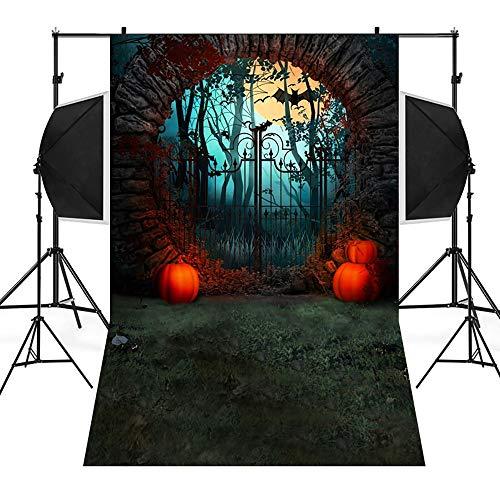 Für Kostüm Skelett Muster - Allegorly Halloween 3D Studio Hintergrundtuch Backdrops Muster Hintergrund Fotografie Studio Fotografie Hintergrund Gemälde Vinyl Laterne Foto Stoffhintergrund