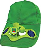 Green Horizons Solar Cap with Fan (Green)