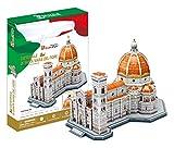 Puzle 3D CUBIC FUN MC188h, Catedral de Santa María de la Flor, Florencia, Italia