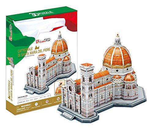 CUBIC FUN MC188h - 3D Puzzle Cattedrale di Santa Maria in Fiore - Firenze - Italia
