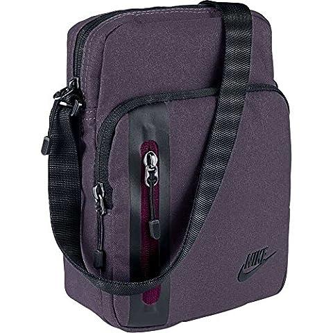 Nike Tech, Unisex Erwachsene Handtasche Einheitsgröße Violett (dark raisin / true berry / black)