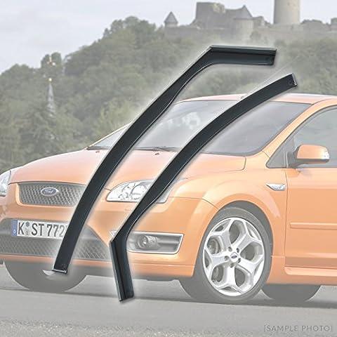 Ford Focus (2004 to 2011 4DR FRONTS) Wind Deflectors Rain Wind Window Deflectors