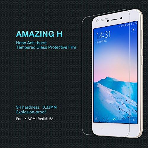 Nillkin Amazing H - Protector de pantalla 9H de 0,3mm cristal templado oleofóbico para Xiaomi Redmi 5A