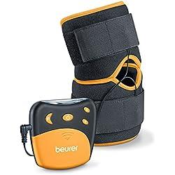 Beurer EM 29 - Electroestimulador para rodillas y codos 2 en 1, color negro