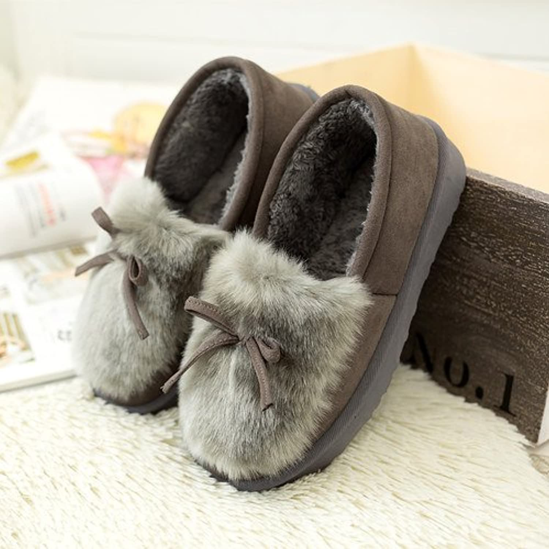 Y-Hui Otoño e Invierno Zapatos Zapatos de moda femenina un estudiante perezoso zapatos,38 (Código estándar), Gris