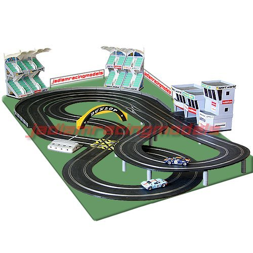 Scalextric Digital Set SL1 JadlamRacing Layout with
