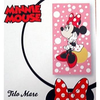 100/% Cotone 70 x 140 cm Rosa Disney Principesse Telo Mare Singolo