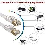 Cat.6De Cable Plano de red Gigabit Ethernet lann, cable plano, cat5sh–Cat.6FTP (RJ-45) 10/100/1000Mbit/s netzwerkkabel Cat 6