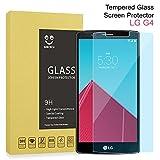 Protecteur d'écran en verre trempé pour LG G4/G5haute incurvée defintion 3D Full Film couverture d'écran, anti rayures/Bulles/empreintes digitales sans Dureté 9H pour LG [Transparent] LG G4 transparent