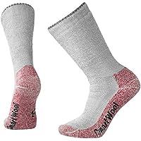 SmartWool Extra Heavy - Calcetines para hombre, tamaño 38-41, color gris/rojo
