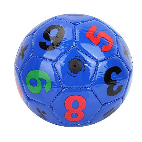 Balón de Fútbol para Niños, Pelota de Fútbol PVC Tamaño 2 Ejercicio Deportes Fútbol Juguetes Mini...