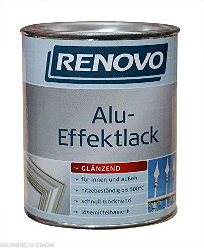Alu-Effektlack 500 ml Silber Renovo