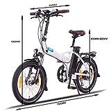 NCM London (+) 20 Zoll E-Bike, E-Faltrad, 36V 15Ah / 19Ah 540Wh / 684Wh Akku, 250W - 3