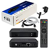 Infomir & HB-DIGITAL MAG 322w1 Original IPTV Set TOP Box WLAN (WiFi) integriert 802.11 b/g/n Multimedia Player Internet IPTV Receiver (H.256 Support) Nachfolger von MAG 254 + HDMI Kabel + LAN Kabel