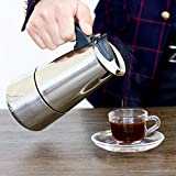 Best Coffe Pots - Getko With Device 6-Cup Stovetop Espresso Maker, Stainless Review