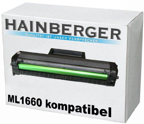 Hainberger Toner für Samsung ML-1660 Schwarz, 2.500 SeitenHainberger Toner für Samsung ML-1660...