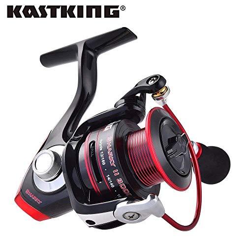 Serie 11, 3000: KastKing Sharky II Serie 1500-6000 100% Impermeable MAX Drag 19KG Carrete Giratorio Encendedor Carrete de Pesca de Agua Salada para mar más Fuerte