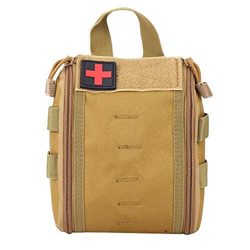 Alomejor Tactical Bag Tragbare Notfalltasche Tactical Medical Pouch für Reise Camping Rettung Überleben - Molle Pouch Medical