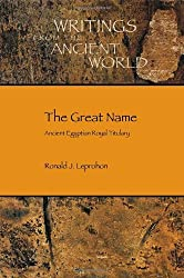 The Great Name: Ancient Egyptian Royal Titulary