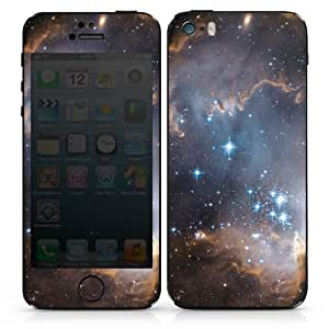 Apple iPhone 5s Case Skin Sticker aus Vinyl-Folie Aufkleber Sterne Galaxie Universum