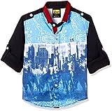 Seals Boys' Shirt (AM8182_blue_10)