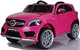 simron Mercedes-Benz A45 AMG SUV Ride-On 12V Kinderauto Kinderfahrzeug (Pink/Rosa) - 8