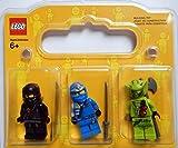 LEGO Ninjago Figurenset: 3 Ninjago Figuren (Jay ZX, Cole und Lasha) in toller Geschenkverpackung